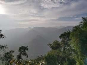 Scenic shola forest landscape in Adukkam