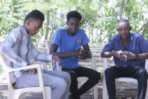 Young Members of HRF Visit Source Divine