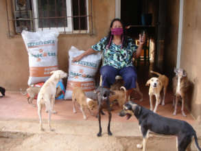 Food Bank beneficiary in Maracaibo