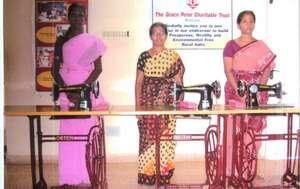 free sewing machine to needy women