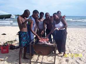 BeeHive School Staff at Lake Malawi