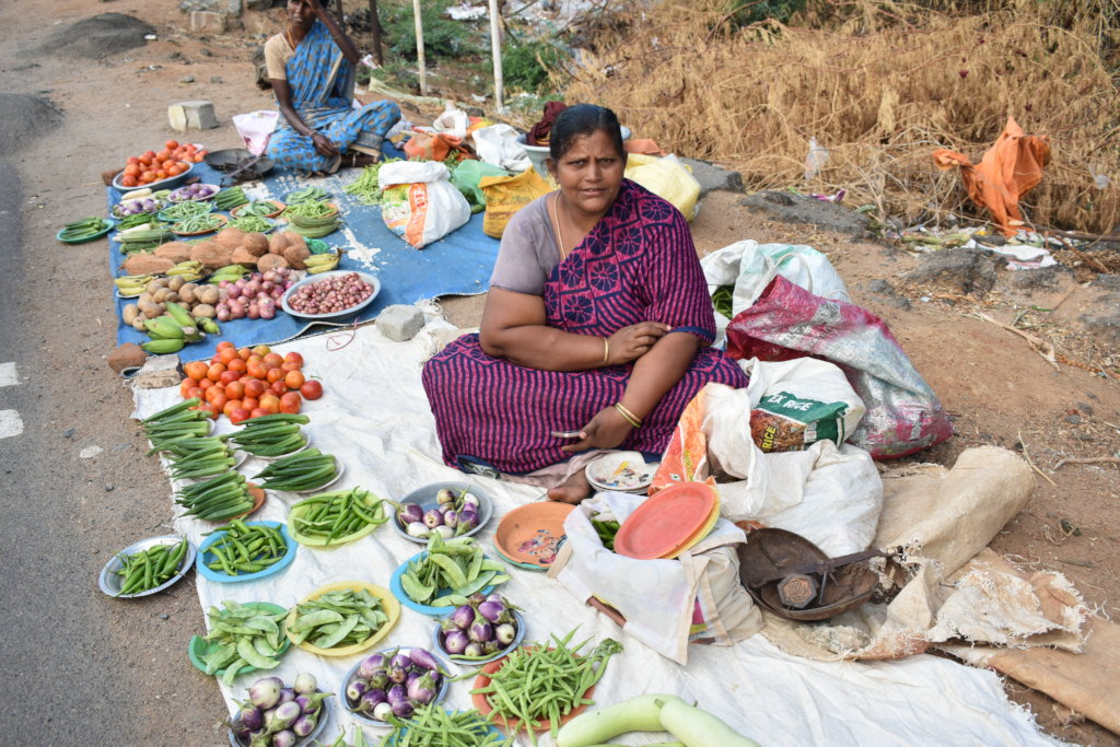 COVID relief for women: food carts  in Tamil Nadu