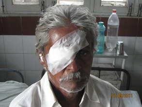 Surgery enhances vision