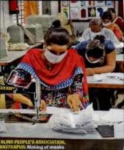Mask Production at BPA