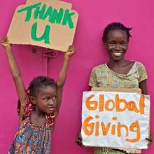 Grateful For GlobalGiving Donors!