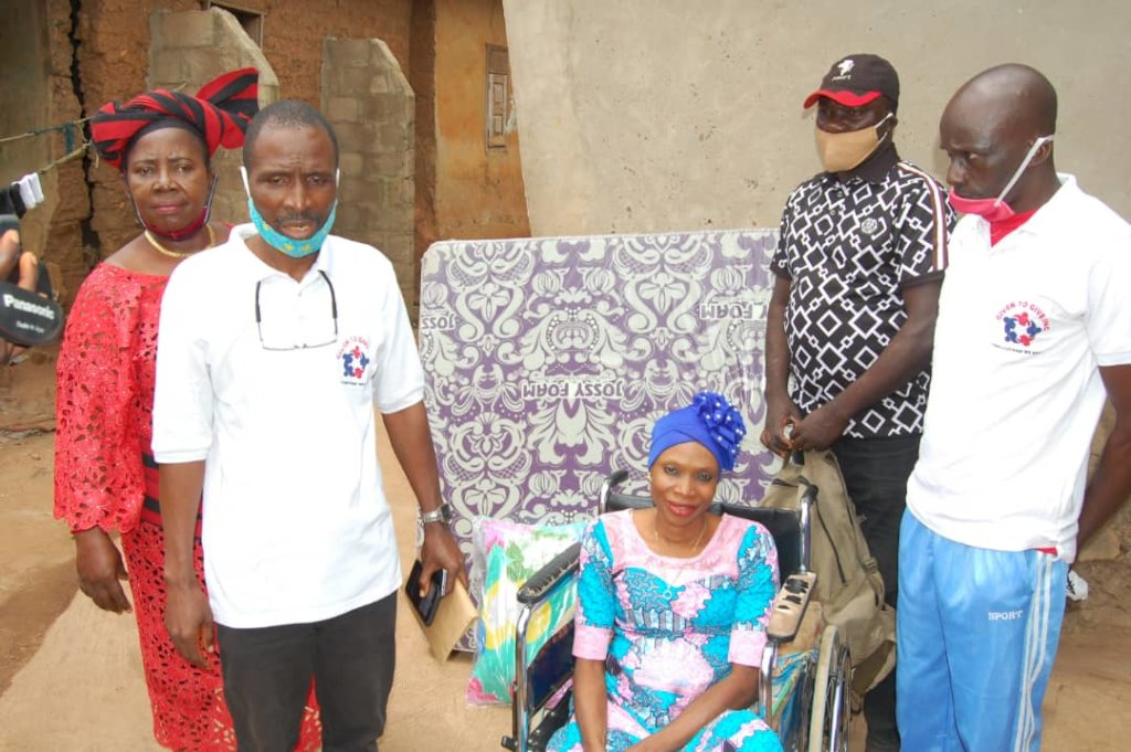 COVID-19 Palliative for 1200 households in Nigeria