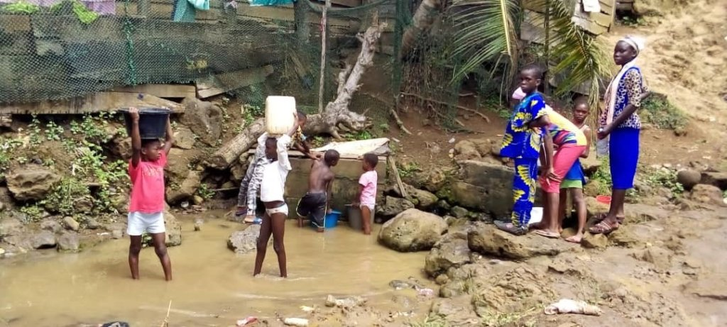 Bring clean water to Mabeta, Limbe