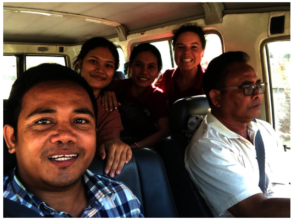Social Work Team During Family Reunification Visit