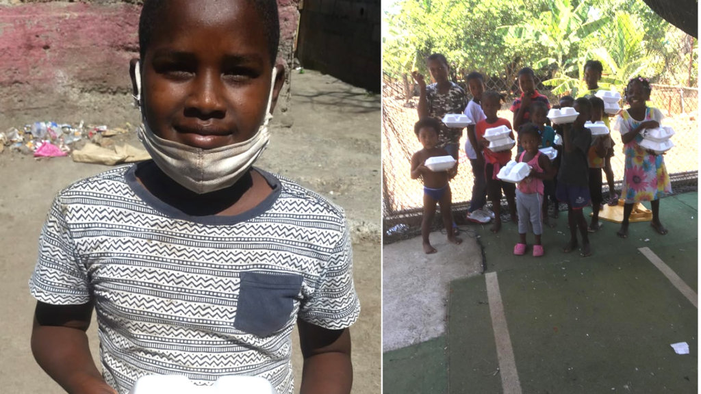 Help families affected by COVID-19 in the DR