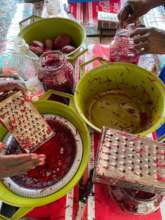 Grating, spicing and pickling