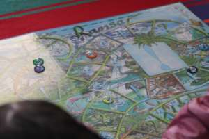 Playing a wetlands game from Ramsar