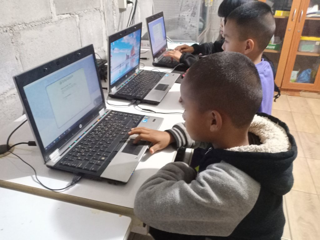 Computers for Refugee Children