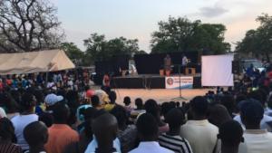 BARKA's Theatre Troupe performs live in Fada