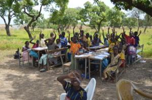 Rural Village Primary School Students