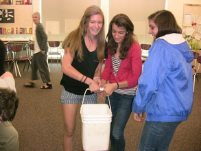 8th Graders Heft 40 pounds of H2O