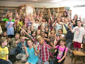 4th Graders Motivated to Change the World