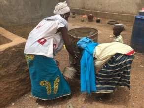 Handwashing sensitization