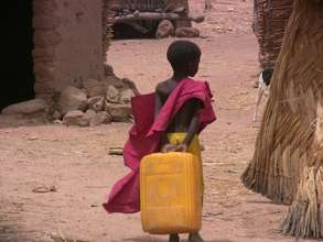 No age is too young for carrying water.