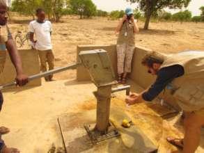 DJ Brooks of Initiative : Eau tests well water