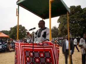 Minister of Water, World Toilet Day, Tibga