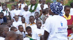 Village forums with girls to End FGM