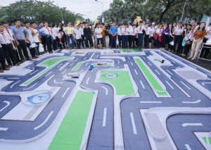 Thousands joined us to celebrate road safety.
