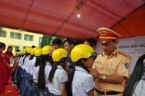 Helmets for Kids kicks off in Yen Bai Province.