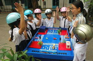 Hands-on road safety education