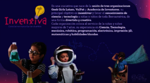 Support INVENTIVA, STEAM education to latina girls