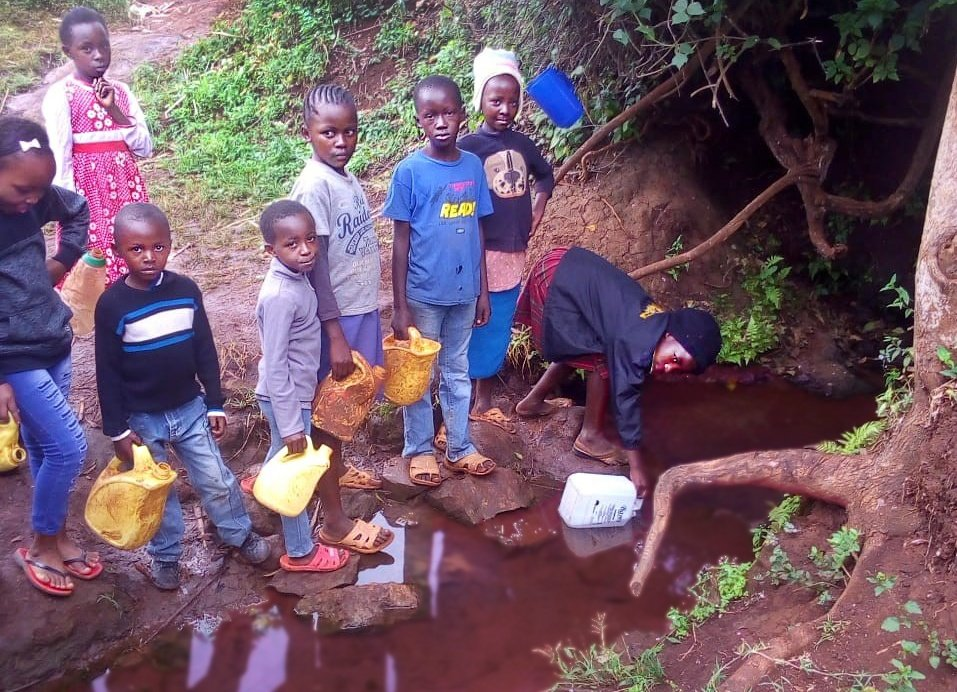 Give reliable fresh water to 2,500 Kenyan children