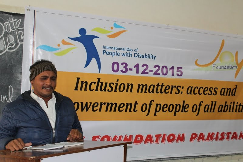 Empowering 140 disabled children in Toba Tek Singh