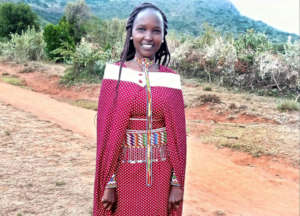 New staff hire Nancy Nteyia