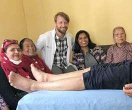 Derek in Clinic