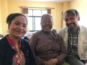 Relieve the COVID 19 impact on Patients in Nepal