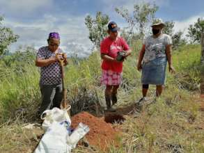 Our community leaders planting native trees