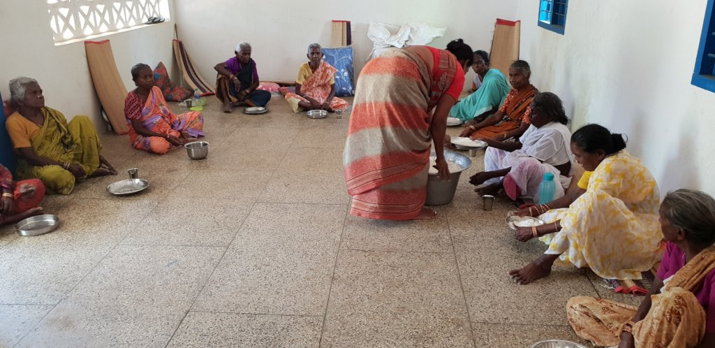 Provide food to neglected elders