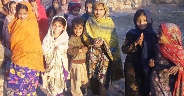 Let us build a school for 300 Pakistani Girls.