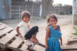 Children playing, Miguel Seminario
