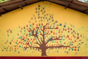 Growing Together, murales