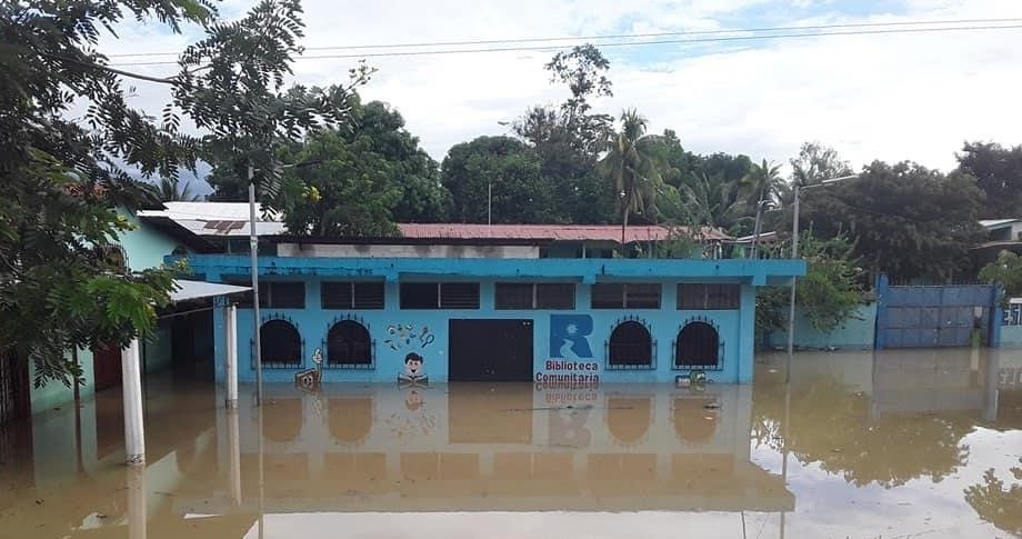 Re-Open a Community Library Hit by Hurricane Eta