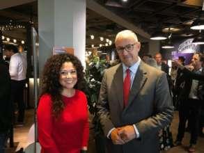 Christina Moreno with Mayor Aboutaleb - Rikx Event