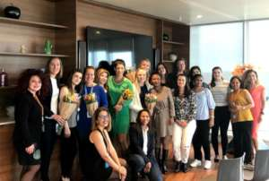 Lotus Flower workshop hosted by corporate partner