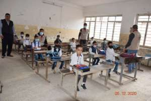 Damaged Classrooms - 2ed Grade