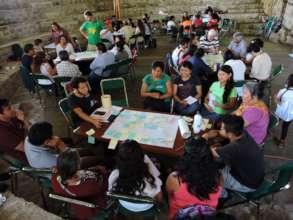Workshop session in Puebla