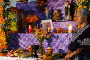 Altar to the dead, Mexico pluricultural State