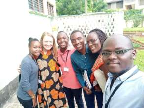 Instructor Prof. Martha Clokie with participants