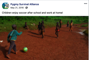 Children enjoy soccer after school and chores