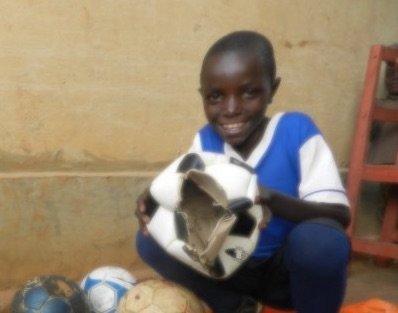 Bring Soccer Balls To 100 Rwandan Boys and Girls