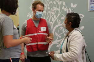 Patient and Translator in Rexburg