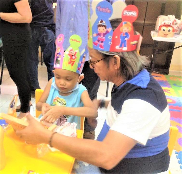 Christmas Party Joy for 100 Children